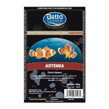 Betta Choice Frozen Artemia